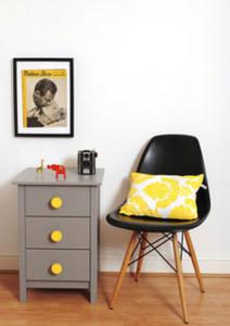 Chocolate Creative   Drawers & Chair