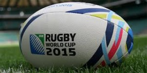 Rugby world cup ball 2015